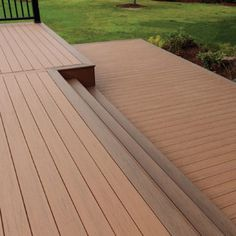 Gentil Wood Plastic Composite Decking Provide A Variety Of Design, Color And Wood  Grain Finished Products