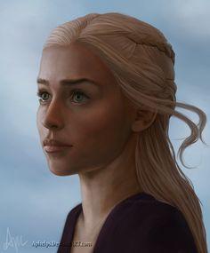 Daenerys by Aphelps.deviantart.com on @deviantART