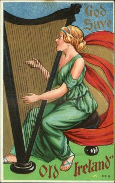 Vintage Postcard- Ireland
