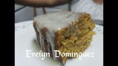 Pound cake Pastel de  Calabaza con Glaseado de Vainilla