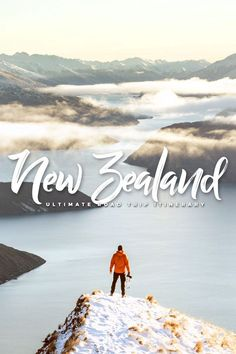 You can spend a lifetime exploring New Zealand 'Middle-earth', but you can start with an epic road trip via this travel guide covering North & South Island! New Zealand Destinations, New Zealand Itinerary, New Zealand Tours, New Zealand Travel Guide, Travel Destinations, Perth, Brisbane, Sydney, Melbourne