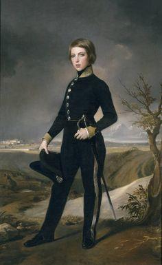 "Federico de Madrazo y Kuntz, ""Federico Flórez"", 1842 (Museo del Prado, Madrid)"