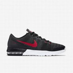 6757051b77 $109.42 nike air training shoes,Nike Mens Black/Cool Grey/University  Red/White Air Max Typha Training Shoe