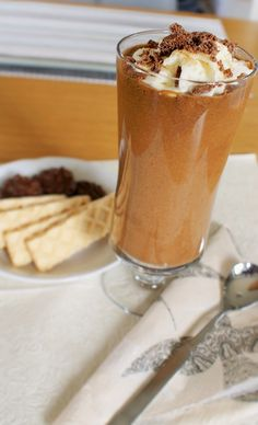 Fruit Smoothies, Latte, Pudding, Sweets, Chocolate, Coffee, Drinks, Shake, Desserts