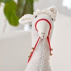 Lolo the Llama - Is someone you know crazy about llama's? Sew up our cute stuffed llama. #llamalove #llama #sewallama #handmadewithjoann