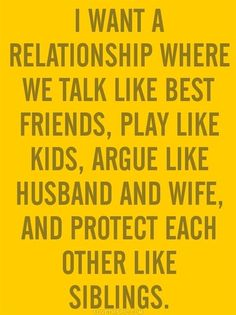 "This is pretty much the recipe. It all starts with best friends. But I would change ""argue like husband and wife"" to dealing with marital problems like Nick & Nora. :-)"