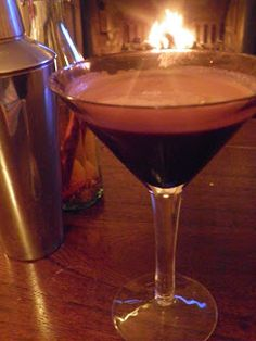 Chilli chocolate martini, rich dark chocolate with a kick of chilli