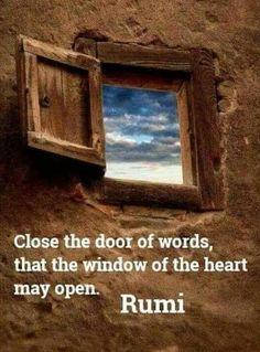 Rumi Poem, Rumi Quotes, Gratitude Quotes, Yoga Quotes, Heart Quotes, New Quotes, Spiritual Quotes, Inspirational Quotes, Qoutes