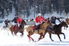 The amazing Snow Polo World Cup will return to Sankt Moritz for a time in late January The world-class event, which has become synonymous with the lu World Cup 2018, Cartier, Polo, Snow, Horses, Club, Animals, Polos, Animales
