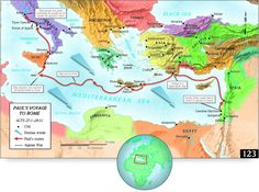 Paul's Journey To Rome. The voyage to Rome began in early autumn of about 60 AD