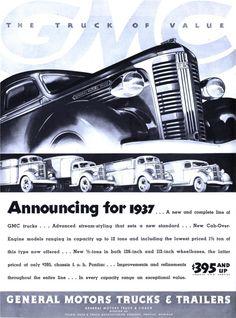 General Motors Trucks & Trailers - 19361221 Life