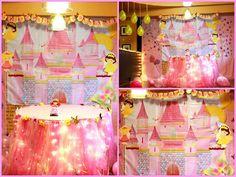 Fairy princess backdrop
