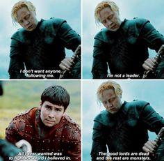 Brienne and Podrick #GameOfThrones