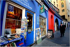 The Old town bookshop (Edinburgh) by Nicolas Valentin, via Flickr