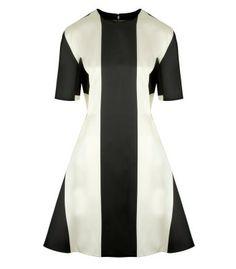Fashion Math: Date Night Edition - Stella McCartney Striped Mini Dress #ShopBAZAAR