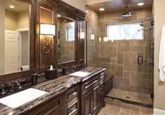 Love this shower!! Must have for my Master Bathroom!