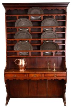An unusual late 18th Century Fruitwood Dresser. France Ca1790