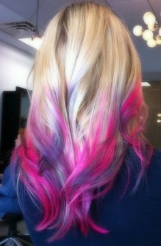 Miss my pink hairs =(