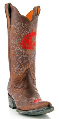 Womens WSU Boots