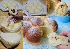 Danubio dolce alla nutella, ricetta facile per feste di compleanno per bambini, colazione, merenda, dolce lievitato, pan brioche soffice, senza burro, olio