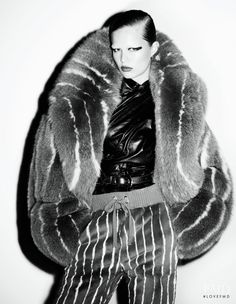 Anna Ewers featured in The Big And The Beautiful, November 2016.
