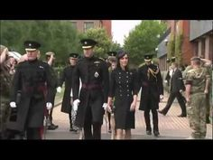 Duke and Duchess of Cambridge honour  Irish Guards