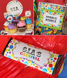 Carnival Party Decorations R Wilson Carnival Party Decorations, Circus Carnival Party, Carnival Birthday Parties, Carnival Themes, Circus Birthday, Birthday Fun, Birthday Party Themes, Birthday Ideas, Double Birthday Parties