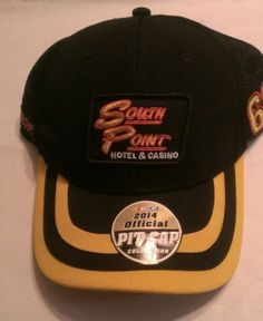 Brendan Gaughan #62 South Point Hotel & Casino RCR Team Issued Hat, 2014