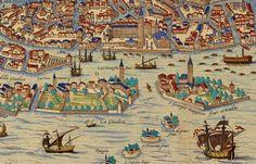 Venice Map in 1565