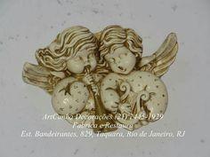 Anjos. #anjo #anjos #anja #angel #angels #artesanato #gesso #riodejaneiro #rio #rj #errejota