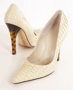 Versace heels. So elegant!