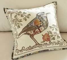 Anna Marie bird pillow