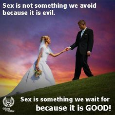 Sex was always meant to be a treasured gift. Somewhere along the way, it's lost it's true purpose and value.