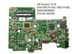 67.00$  Watch now - http://alind5.worldwells.pw/go.php?t=32318534223 - For HP Pavilion 15 15-B 709174-501 709174-001 Laptop Motherboard DDR3 DA0U56MB6E0 A6-4455M 100% Tested