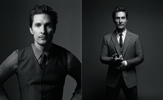 Mark Seliger photographs Mattew McConaughey for Icon, March 2015