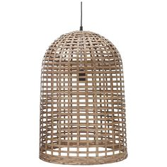 Formal dining x 2  Bell Basket Ceiling Pendant 60cm | Freedom Furniture and Homewares