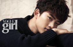 2PM's Ok Taecyeon Vogue Girl Korea Magazine December 2013