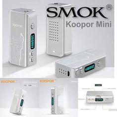 The latest device from Smoktech, the Smok Koopor Mini Box Mod offers up to of power, temperature control and Bluetooth connectivity. Vape Juice, Control Panel, Website, Box, Mini, Vaping, Bluetooth, Club, Free Shipping