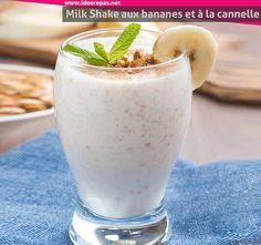 Voici un Milkshake, depuis que je l'ai découverte, j'en fais au moins une fois par semaine! C'est facile à faire pour un résultat génial, vu que c'est un boisson recommandé pour prendre du poids. N'hésitez pas de l'essayer!