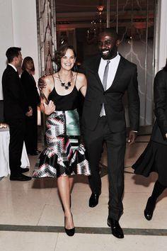 Ruth Wilson & Idris Elba aka Luther & Alice off screen Celebrity Look, Celebrity News, British Actresses, Actors & Actresses, Luther Bbc, Ruth Wilson, Better Half, How To Look Better, Netflix