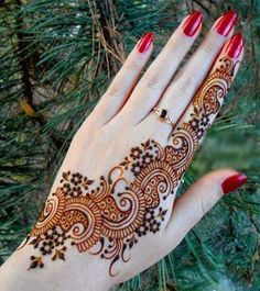 Fashion and beauty tips: BEST MEHNDI DESIGN.....