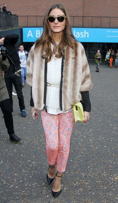 Olivia Palermo Photo - A guest attends the Unique by Topshop show during London Fashion Week