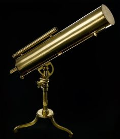 4 inch reflecting telescope, by James Short of Edinburgh, 1737 Reflecting Telescope, Tales Series, Space Gallery, Earth From Space, Stonehenge, National Museum, Stargazing, Science And Technology, Constellations