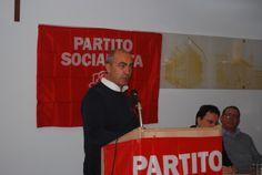 Ospite il Vicesegretario Regionale di IDV durante il suo intervento al Congresso del Partito Socialista di Alessandria