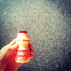 Yakult! - one of these a day, in my childhood in Macau