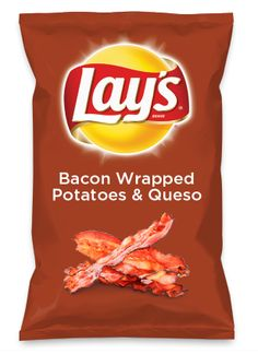 Wouldn't Bacon Wrapped Potatoes & Queso be yummy as a chip? Lay's Do Us A Flavor is back, and the search is on for the yummiest flavor idea. Create a flavor, choose a chip and you could win $1 million! https://www.dousaflavor.com See Rules.