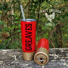 Shotgun Shell Tumbler **The Original Shotgun Shell, DIY and Crafts, Wine Bottle Crafts, Mason Jar Crafts, Mason Jar Diy, Diy Bottle, Diy Tumblers, Custom Tumblers, Glitter Tumblers, Personalized Tumblers, Diy Home Decor Projects