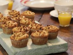 Gordon Ramsay's Home Cooking - Articles - Pear and Crunchy Granola Muffins Recipe - Channel 4