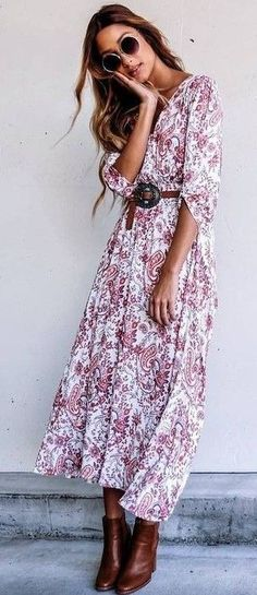 Maxi Boho Dress Source
