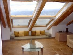 This spacious two-storey penthouse apartment makes a luxurious base from which to enjoy the beauty of Croatia's coast. The balcony, picture window, and the floor to ceiling velux windows in the roof all afford fabulous views of the sea, the mountains and the spectacular sunsets - the views extend over 50 miles in each direction.